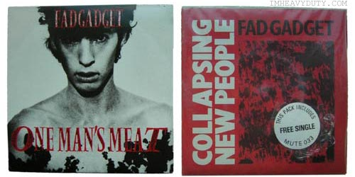 Fad Gadget Collapsing New People