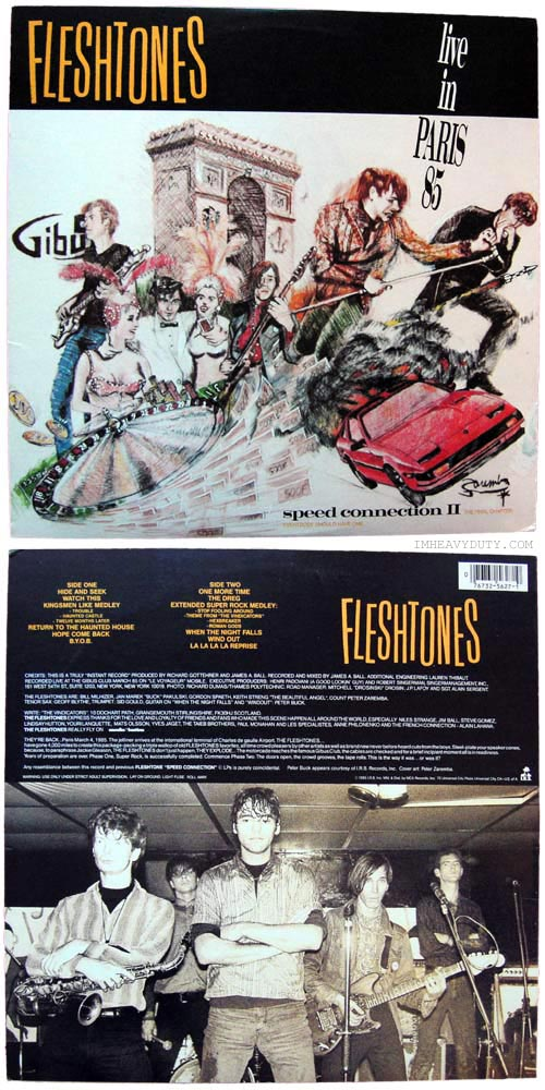 The Fleshtones -- Speed Connection II