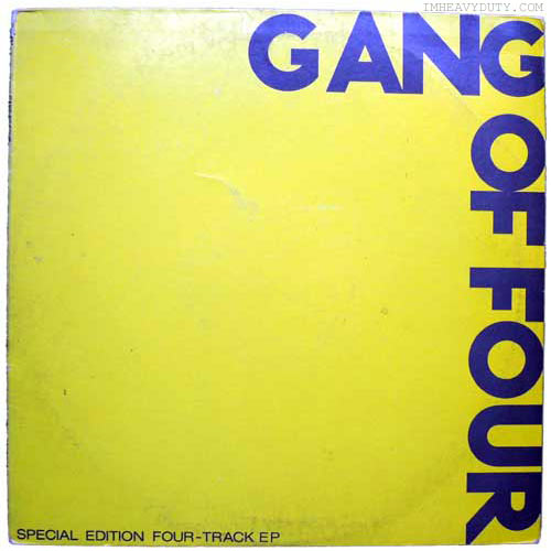 Gang Of Four - Entertainment + Yellow EP