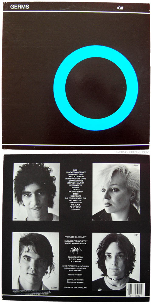 The Germs -- (GI)