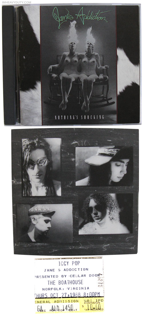 Jane\'s Addiction -- Nothing\'s Shocking