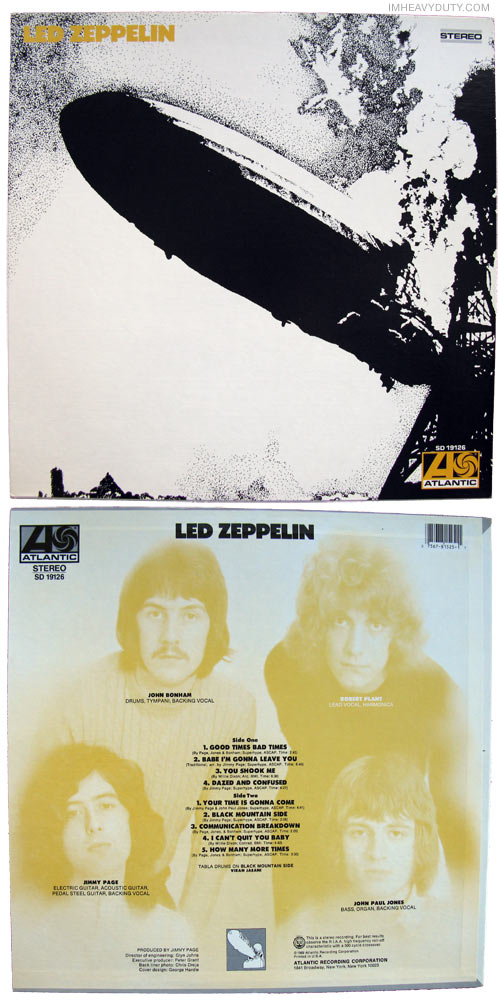 Led Zeppelin -- Led Zeppelin