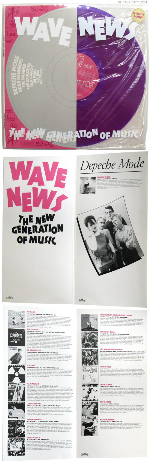 Various Artists -- Wave News - The New Generation of Music