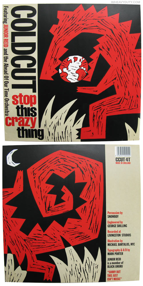 Coldcut -- Stop This Crazy Thing