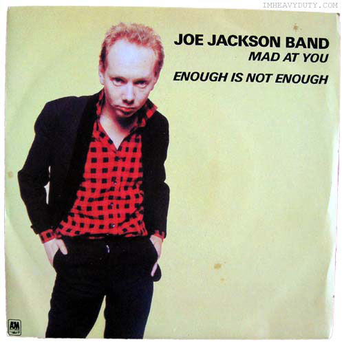 Joe Jackson Band -- Mad at You