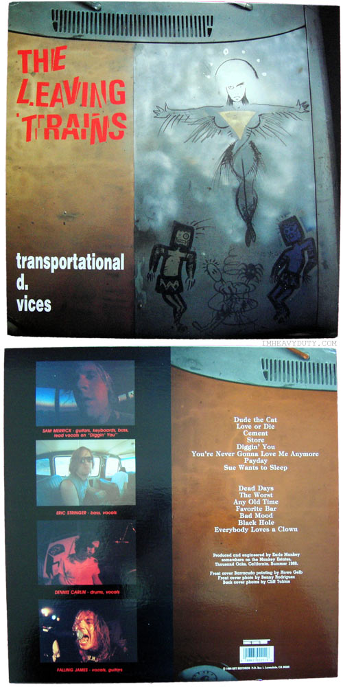 The Leaving Trains -- Transportational D. Vices
