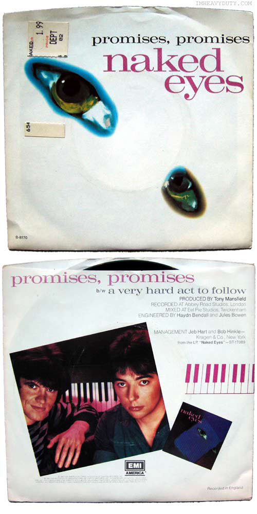Naked Eyes -- Promises Promises