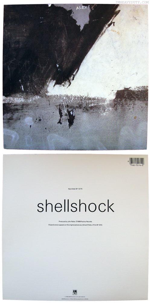 New Order -- Shellshock 12 inch