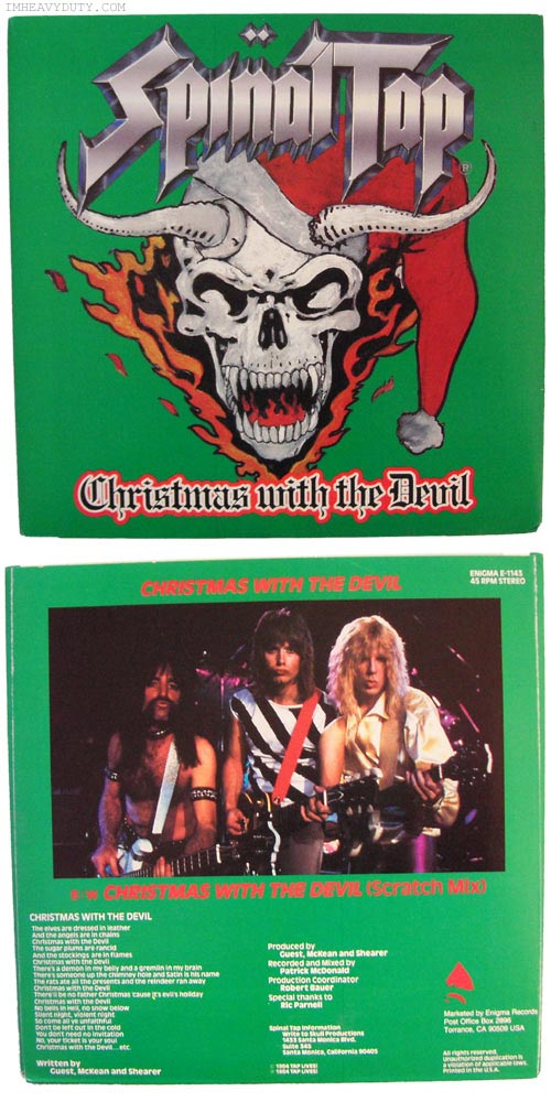 Spinal Tap – Christmas With the Devil | Tracy Sigler