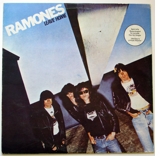 Ramones - Leave Home front cover
