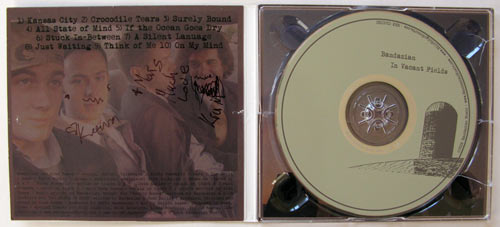 Bandazian autographed CD