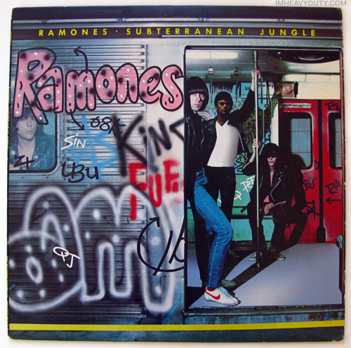 Ramones - Subterranean Jungle front cover