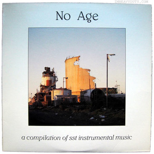Various -- No Age - A Compilation of SST Instrumental Music